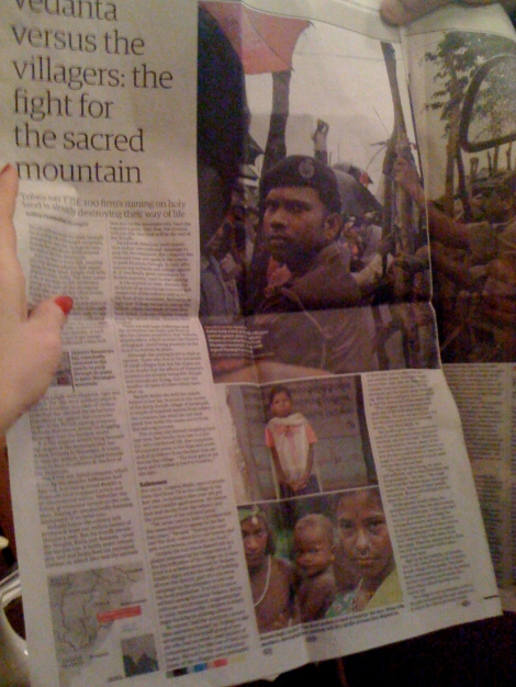 Guardian in 2009: Vedanta versus the villagers: the fight for the sacred mountain